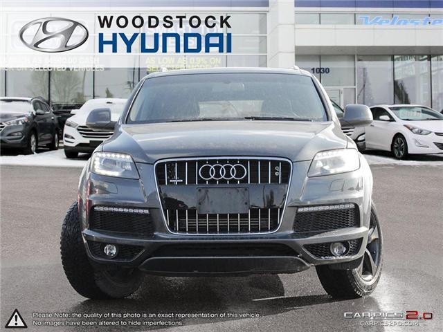 2011 Audi Q7 3.0 Sport (Stk: P1354) in Woodstock - Image 2 of 27