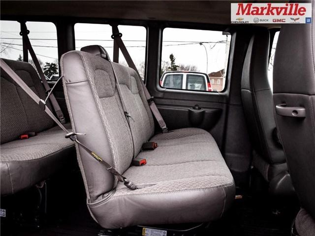 2018 GMC Savana 12 PASSENGER SEATS-GM CERTIFIED PRE-OWNED-LOW KMS! (Stk: P6294) in Markham - Image 13 of 27