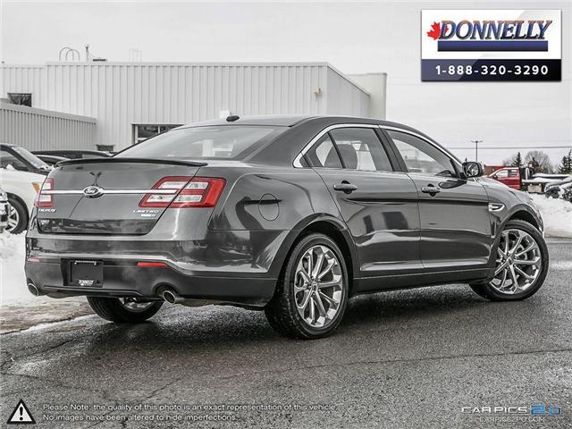 2018 Ford Taurus Limited (Stk: PLDUR6035) in Ottawa - Image 4 of 29