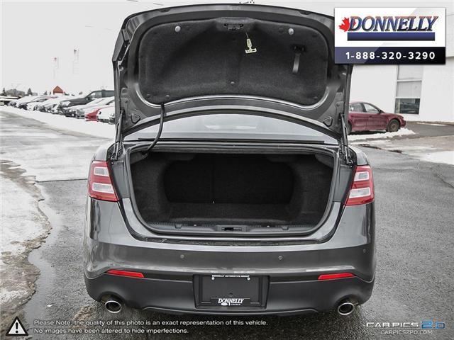 2018 Ford Taurus Limited (Stk: PLDUR6035) in Ottawa - Image 11 of 29