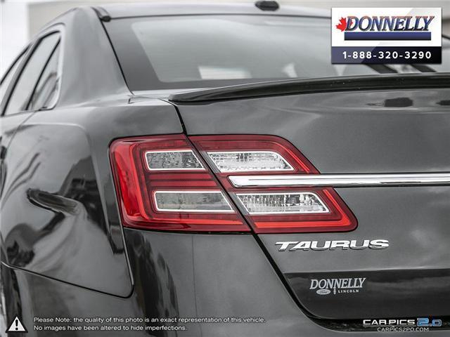 2018 Ford Taurus Limited (Stk: PLDUR6035) in Ottawa - Image 12 of 29