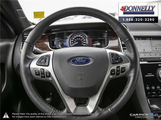 2018 Ford Taurus Limited (Stk: PLDUR6035) in Ottawa - Image 14 of 29