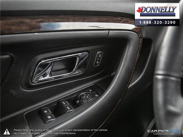 2018 Ford Taurus Limited (Stk: PLDUR6035) in Ottawa - Image 17 of 29