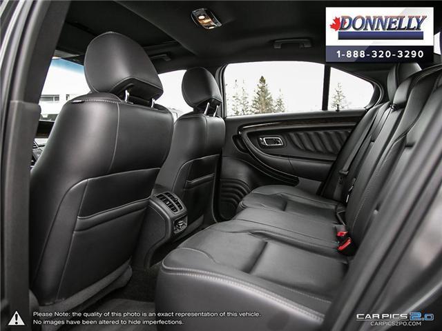 2018 Ford Taurus Limited (Stk: PLDUR6035) in Ottawa - Image 23 of 29