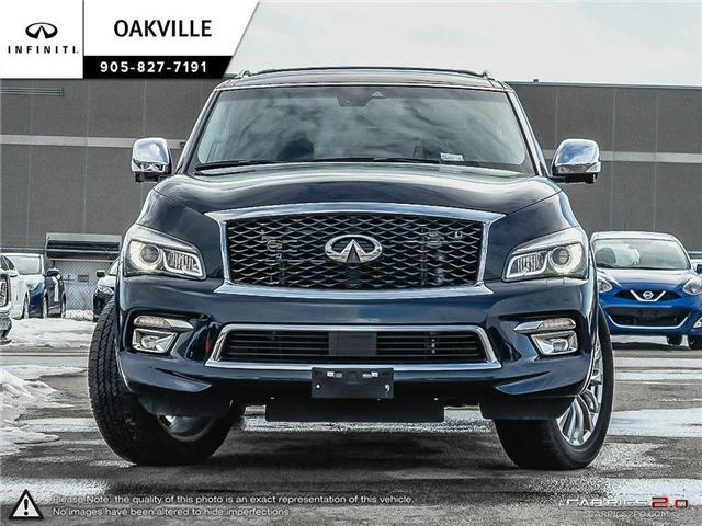 2017 Infiniti QX80 Base 7 Passenger (Stk: QU0131) in Oakville - Image 2 of 20