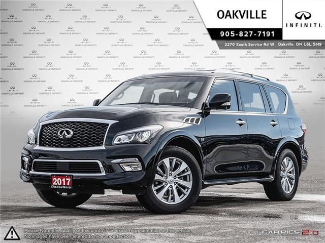 2017 Infiniti QX80 Base 7 Passenger (Stk: QU0134) in Oakville - Image 1 of 20