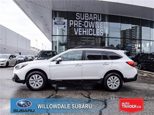2018 Subaru Outback 2.5i Touring | POWER LIFTGATE | BLINSPOT MONITOR (Stk: 18D80) in Toronto - Image 2 of 23