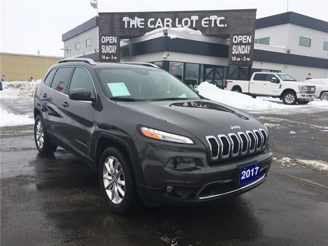 2017 Jeep Cherokee Limited (Stk: 19086) in Sudbury - Image 1 of 16
