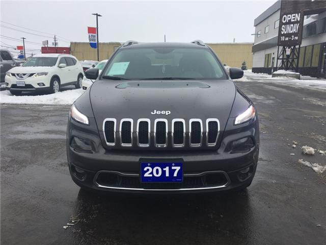 2017 Jeep Cherokee Limited (Stk: 19086) in Sudbury - Image 2 of 16