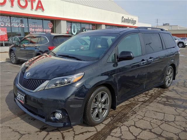 2017 Toyota Sienna  (Stk: P0054630) in Cambridge - Image 2 of 13