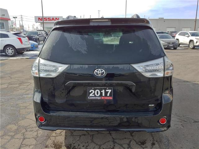 2017 Toyota Sienna  (Stk: P0054630) in Cambridge - Image 6 of 13