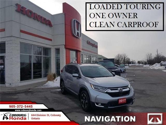 2017 Honda CR-V Touring (Stk: U1750A) in Cobourg - Image 1 of 8