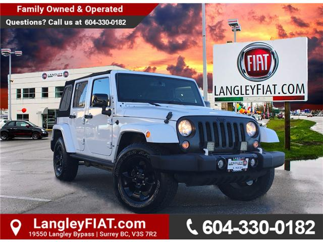 2015 Jeep Wrangler Unlimited Sahara (Stk: LF008970) in Surrey - Image 1 of 27