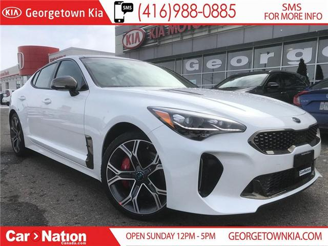 2019 Kia Stinger GT LIMITED | TOP OF THE LINE | $327 BIWEEKLY | (Stk: SG19002) in Georgetown - Image 1 of 30