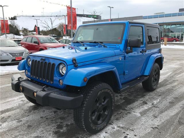2014 Jeep Wrangler Sahara (Stk: P233664) in Saint John - Image 1 of 29