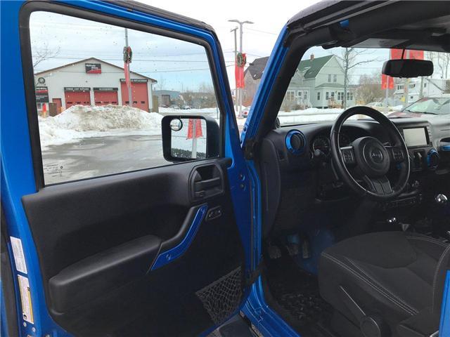 2014 Jeep Wrangler Sahara (Stk: P233664) in Saint John - Image 9 of 29