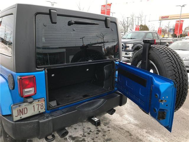 2014 Jeep Wrangler Sahara (Stk: P233664) in Saint John - Image 24 of 29