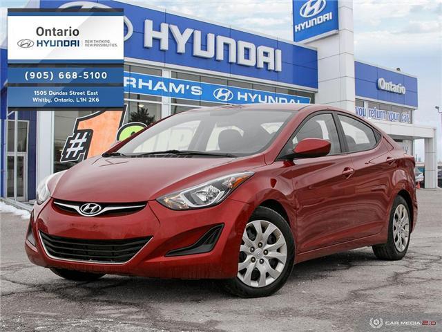 2016 Hyundai Elantra GL / JUST ARRIVED (Stk: 15138K) in Whitby - Image 1 of 27