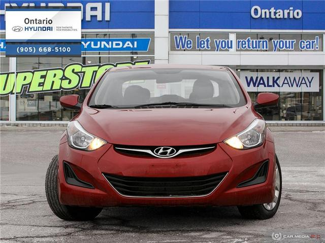 2016 Hyundai Elantra GL / JUST ARRIVED (Stk: 15138K) in Whitby - Image 2 of 27
