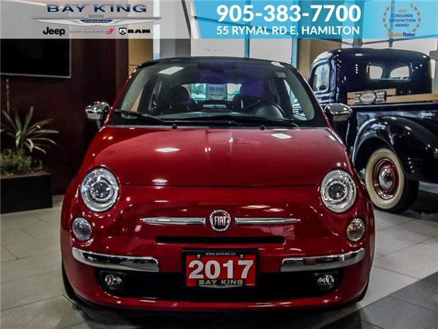2017 Fiat 500C Lounge (Stk: 6739) in Hamilton - Image 2 of 17