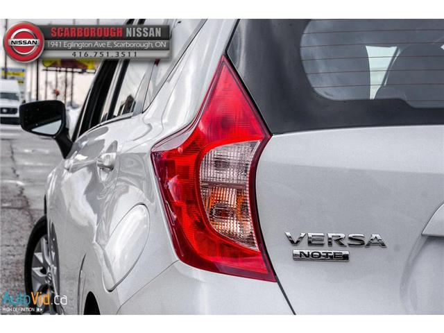 2018 Nissan Versa Note 1.6 SV (Stk: P7684) in Scarborough - Image 7 of 25