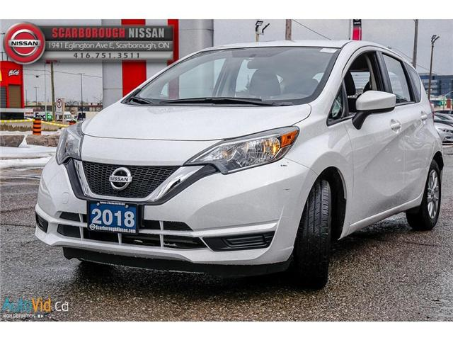 2018 Nissan Versa Note 1.6 SV (Stk: P7684) in Scarborough - Image 9 of 25