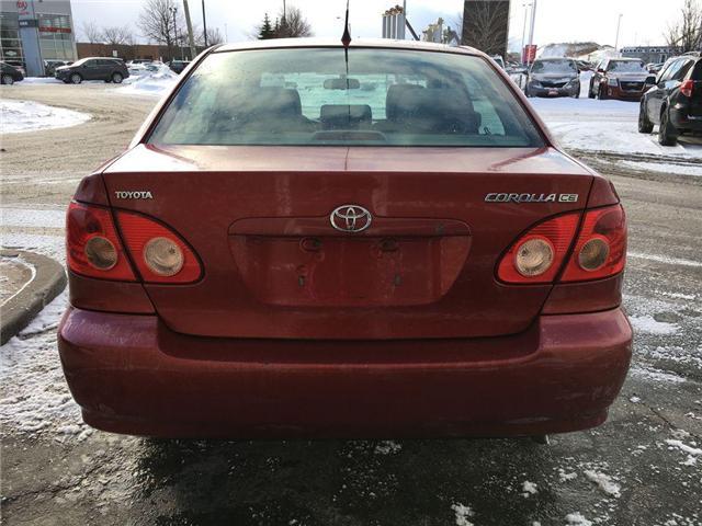 2007 Toyota Corolla CE C PKG POWER GROUP, CRUISE, CD, TILT AND KEYLESS (Stk: 43147A) in Brampton - Image 5 of 13
