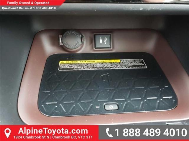 2019 Toyota RAV4 Limited (Stk: W019264) in Cranbrook - Image 14 of 18