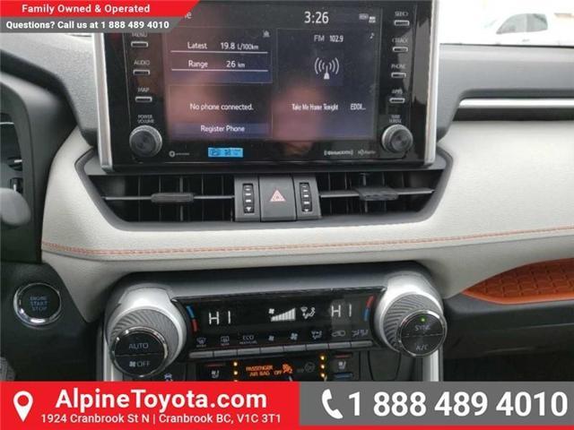 2019 Toyota RAV4 Trail (Stk: W020653) in Cranbrook - Image 12 of 18