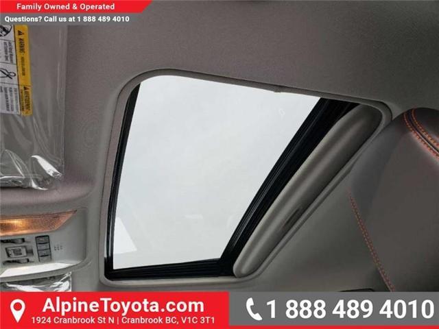 2019 Toyota RAV4 Trail (Stk: W020653) in Cranbrook - Image 17 of 18