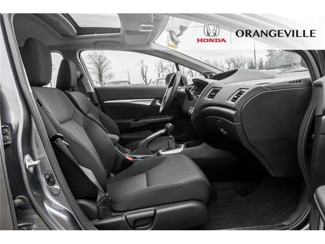 2015 Honda Civic EX (Stk: U3075) in Orangeville - Image 17 of 20