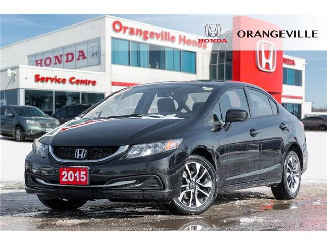 2015 Honda Civic EX (Stk: U3078) in Orangeville - Image 1 of 22