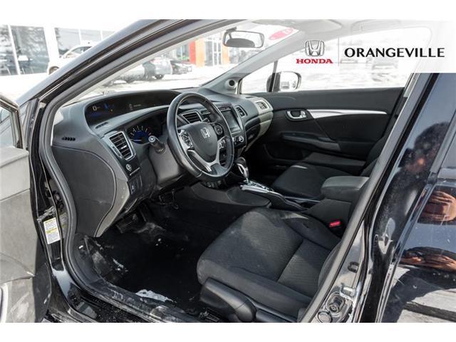 2015 Honda Civic EX (Stk: U3078) in Orangeville - Image 9 of 22