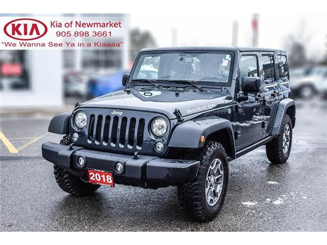 2018 Jeep Wrangler JK Unlimited Rubicon (Stk: P0677) in Newmarket - Image 1 of 19
