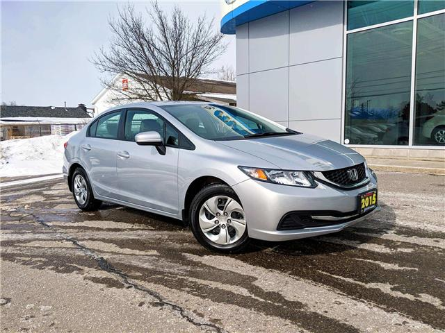 2015 Honda Civic LX (Stk: K7564A) in Peterborough - Image 1 of 22