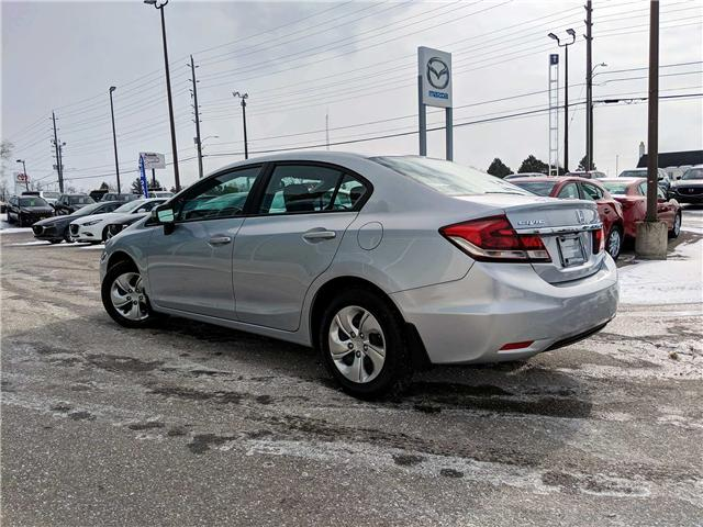 2015 Honda Civic LX (Stk: K7564A) in Peterborough - Image 4 of 22