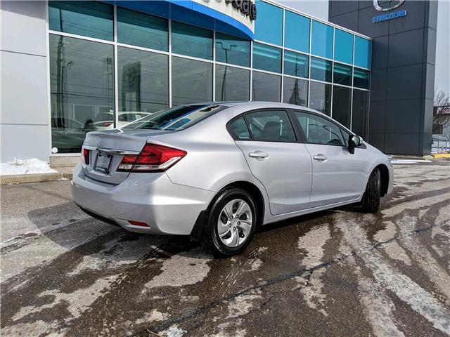 2015 Honda Civic LX (Stk: K7564A) in Peterborough - Image 6 of 22