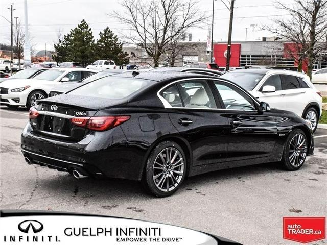 2019 Infiniti Q50 3.0t Red Sport 400 (Stk: I6860) in Guelph - Image 4 of 24