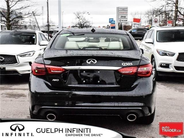 2019 Infiniti Q50 3.0t Red Sport 400 (Stk: I6860) in Guelph - Image 6 of 24