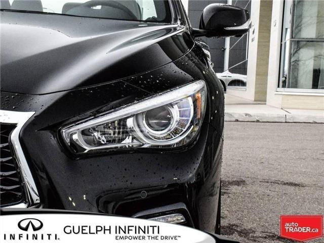 2019 Infiniti Q50 3.0t Red Sport 400 (Stk: I6860) in Guelph - Image 8 of 24
