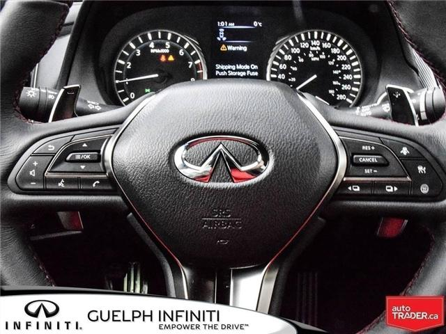 2019 Infiniti Q50 3.0t Red Sport 400 (Stk: I6860) in Guelph - Image 22 of 24