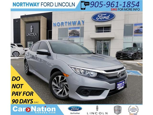 2017 Honda Civic EX | TOUCHSCREEN | SUN ROOF | REMOTE START | (Stk: F189834A) in Brantford - Image 1 of 30