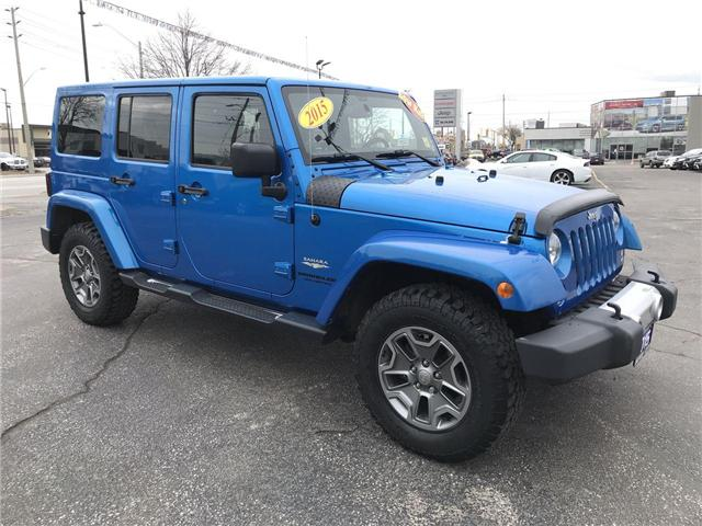 2015 Jeep Wrangler Unlimited Sahara (Stk: 181344A) in Windsor - Image 1 of 12