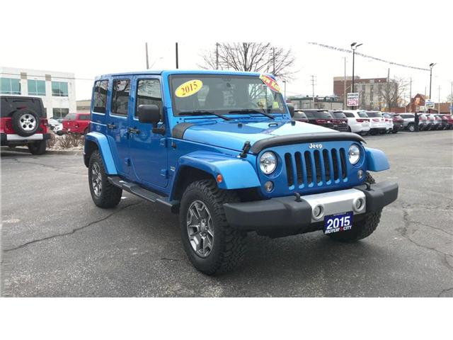 2015 Jeep Wrangler Unlimited Sahara (Stk: 181344A) in Windsor - Image 2 of 12