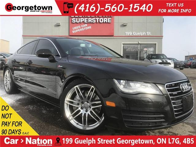 2013 Audi A7 3.0T | NAVI | SUNROOF | LEATHER | AWD | LOW KM | (Stk: P11857) in Georgetown - Image 1 of 29