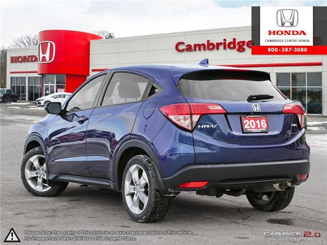 2016 Honda HR-V EX (Stk: 19431A) in Cambridge - Image 4 of 27