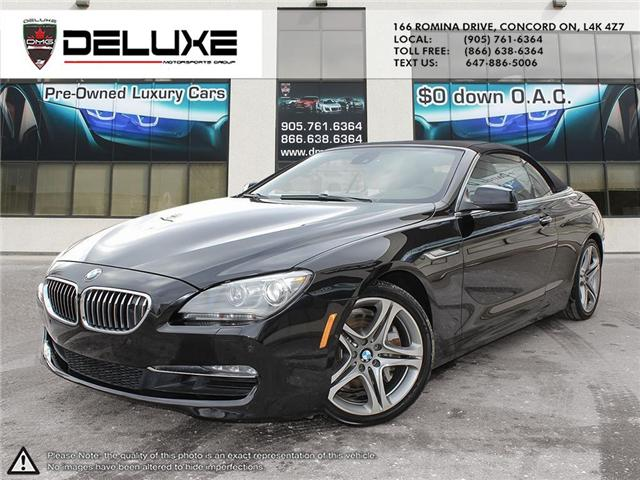 2012 BMW 650i  (Stk: D0537) in Concord - Image 1 of 14