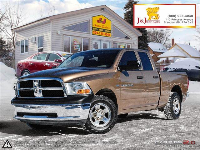 2012 RAM 1500 ST (Stk: J19010) in Brandon - Image 1 of 27