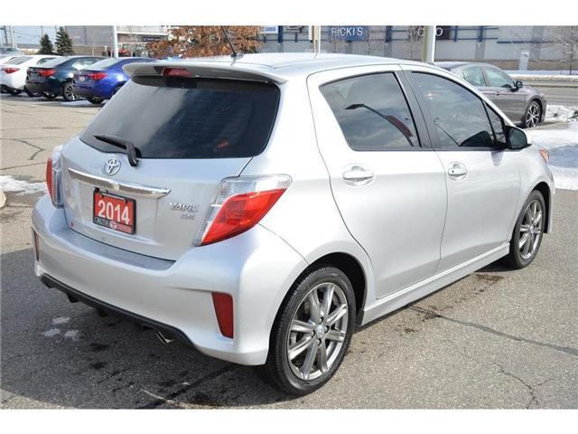 2014 Toyota Yaris  (Stk: 576319) in Milton - Image 14 of 19