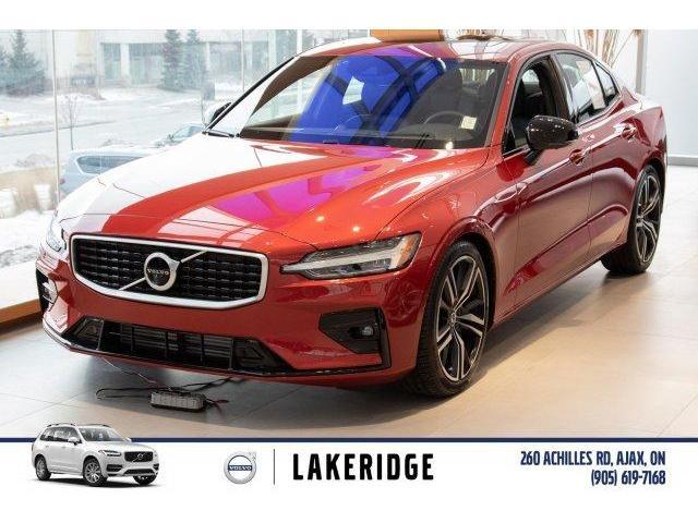 2019 Volvo S60 T6 R-Design (Stk: V0322) in Ajax - Image 1 of 30